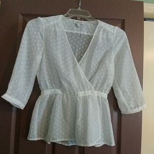 Gently used blouse
